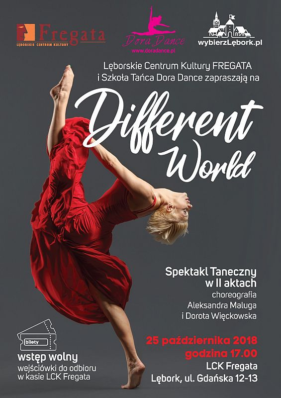 "Spektakl ""Different World"""