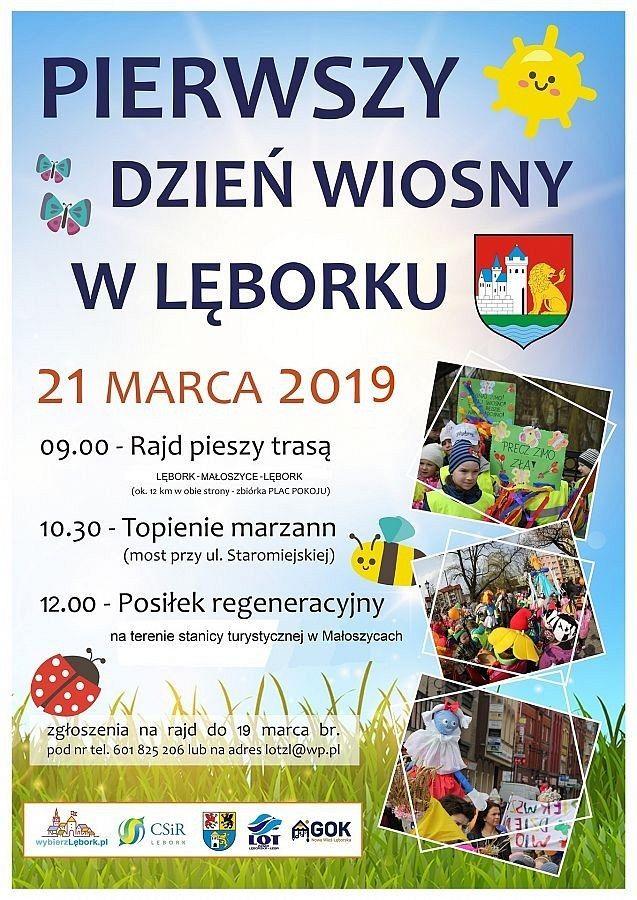 I Dzień Wiosny Urząd Miejski W Lęborku